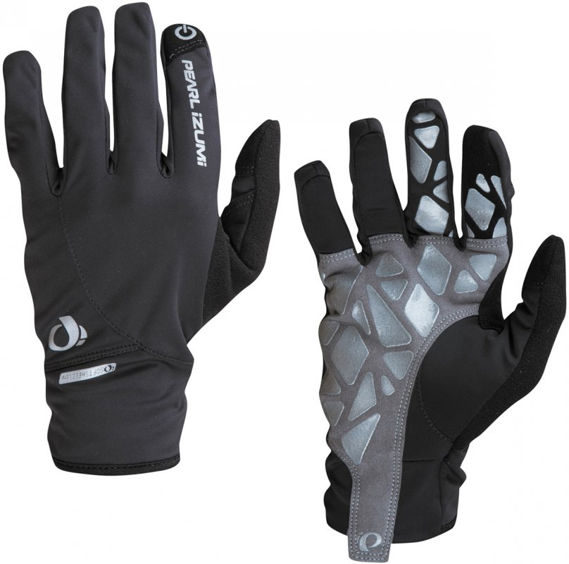 Pearl Izumi- Men's Select Softshell Full-Fingered Glove - Click Image to Close