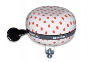 Basil - Big Bell Polkadot White/Red