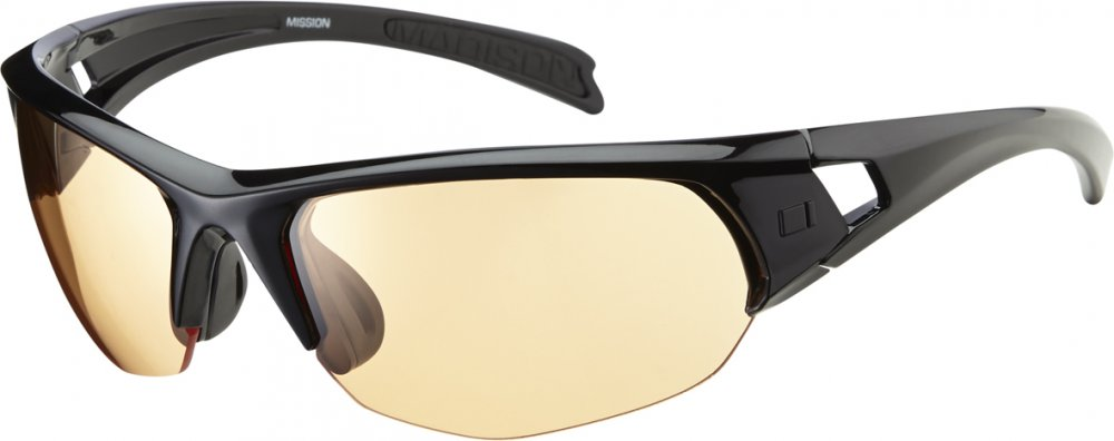 Madison - Mission Glasses Gloss Black - Click Image to Close