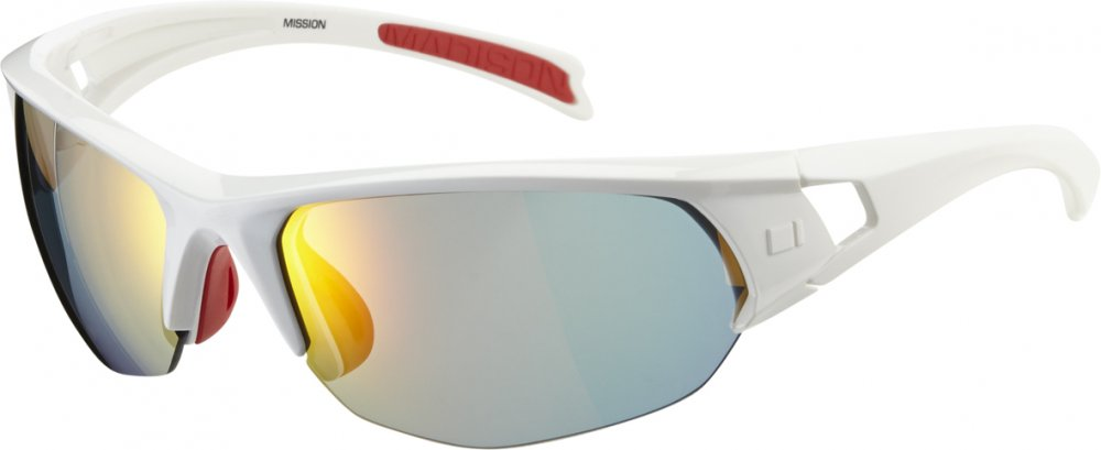 Madison - Mission Glasses Gloss White - Click Image to Close