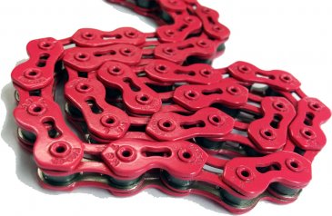 KMC - Single Speed Bicycle Chain Pink