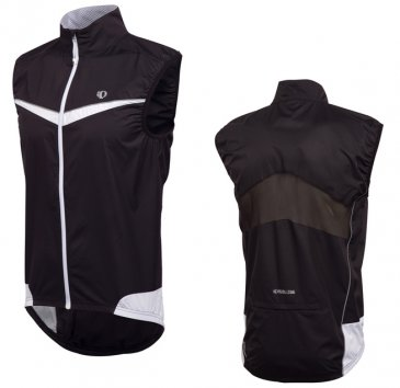 Pearl Izumi - Men's Elite Barrier Vest Black/White