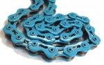 KMC - Single Speed Bicycle Chain Blue