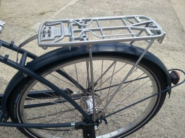 Pletscher - Rear Alloy Carrier for Pashley - Silver