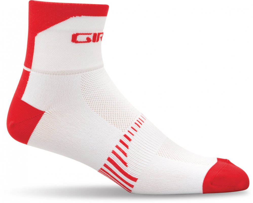 Giro - Standard Racer 3in Sock Red Vert - Click Image to Close