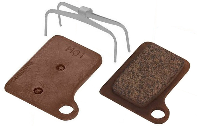 Shimano - BR-M555 (M01) Deore Disc Brake Pads - Click Image to Close